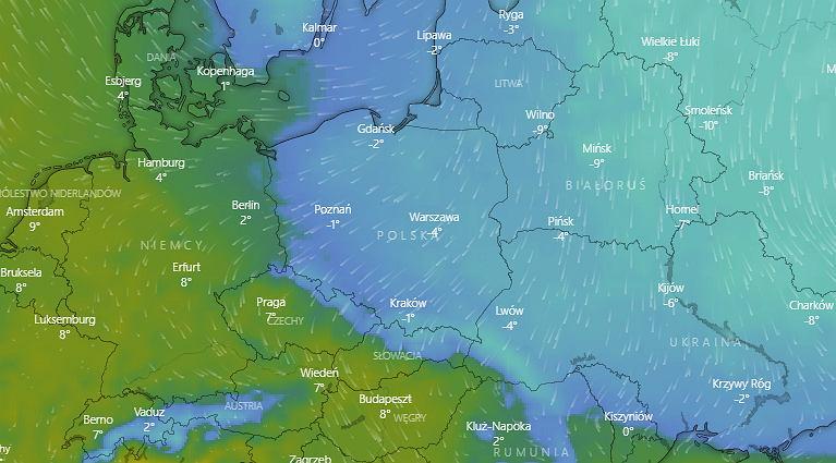 Zima wróciła do Polski. IMGW ostrzega przed oblodzonymi drogami