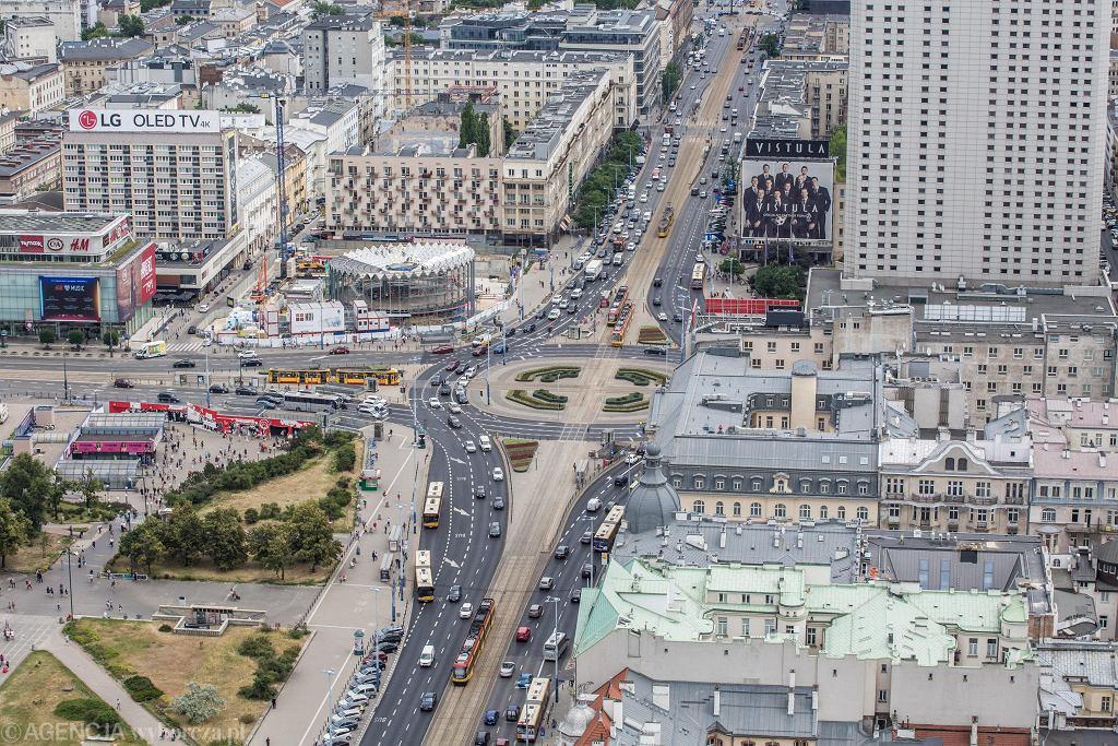 Rondo ma zostać otoczone przejściami dla pieszych. Krytycznie tę inwestycję ocenia wiceprezydent miasta Robert Soszyński.