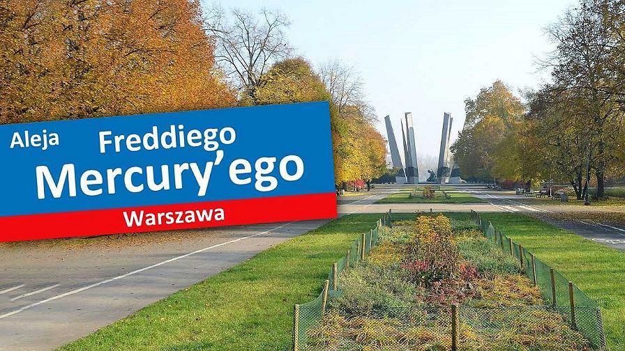 W parku na Solcu może powstać aleja imienia Freddiego Merkury'ego