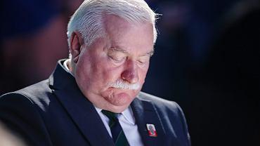 Lech Wałęsa podczas międzynarodowej konferencji i wystawy PIKE. łódź, 7 października 2014