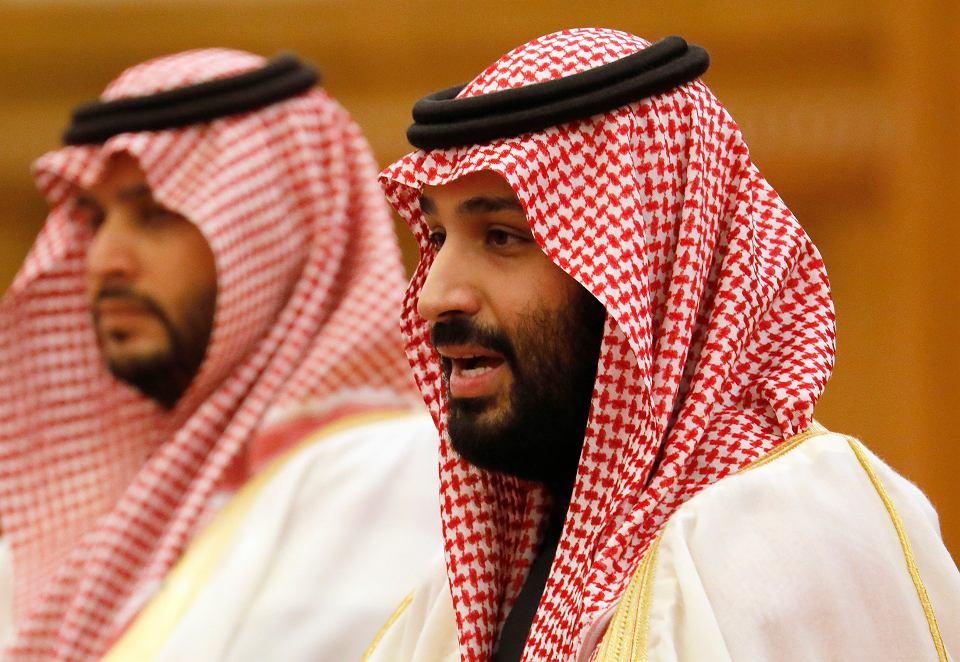 Książę Mohammad bin Salman. 22 lutego 2019