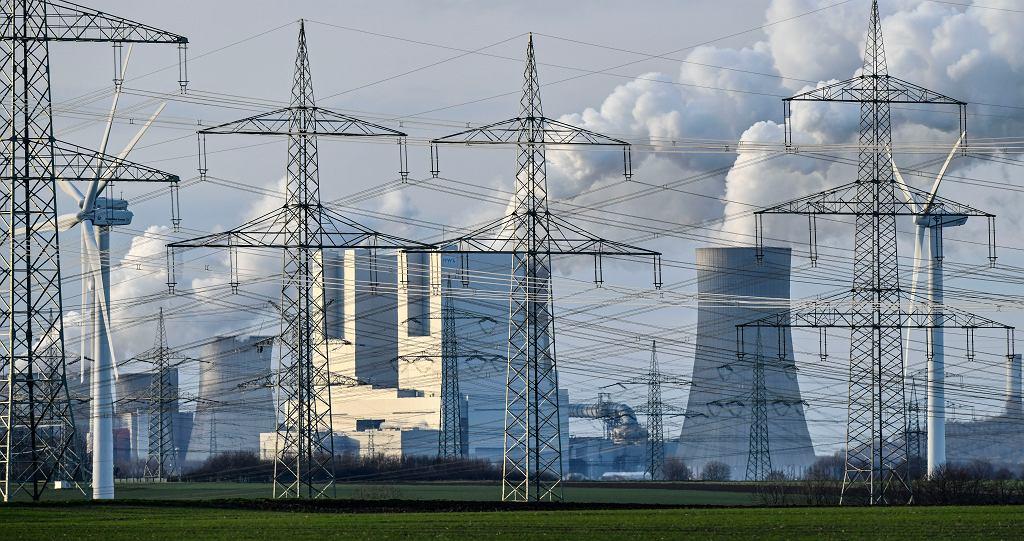 Elektrownia węglowa w niemieckim Bergheim, 13 stycznia 2020 r.