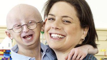 Sam Berns z mamą