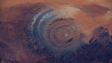 Oko Sahary z kosmosu