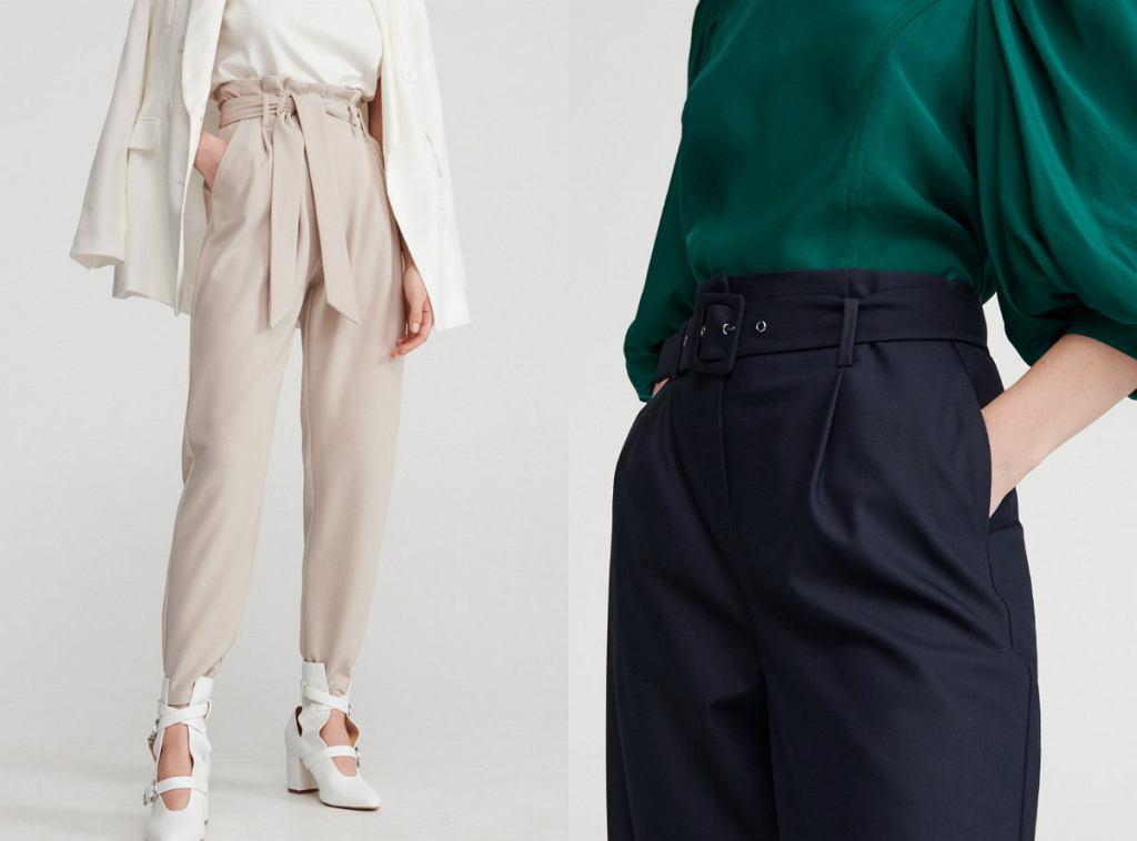 Spodnie z wiosennej kolekcji Reserved