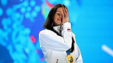 Justyna Kowalczyk ze złotym medalem w Soczi