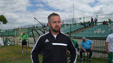 Trener Jacek Magnuszewski (Radomiak)