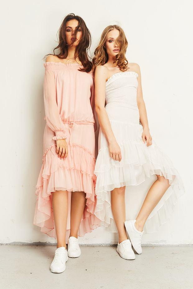 Sukienki z kolekcji polskiej marki Saintby - wiosna 2019