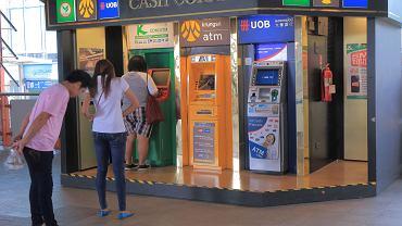 Bankomaty w Bangkoku