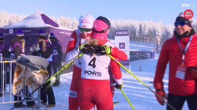 Monika Skinder i Karolina Kaleta