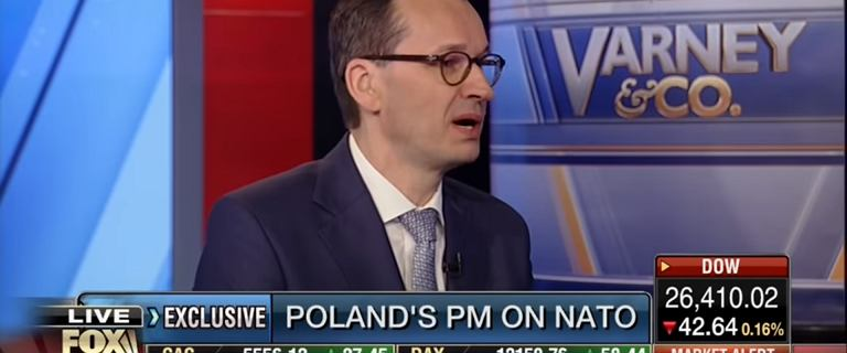 Morawiecki w amerykańskiej telewizji: 'Polska staje się Doliną Krzemową UE'