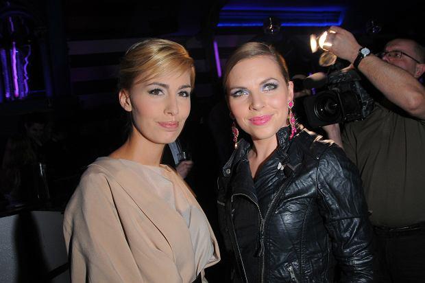 Agnieszka Hyży i Ola Kwaśniewska, pokaz mody