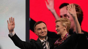 Andrzej Duda na konwencji wyborczej