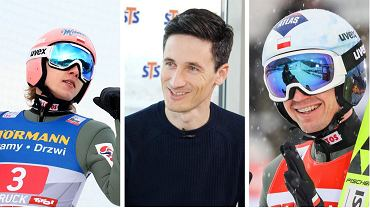 Dawid Kubacki, Martin Schmitt i Kamil Stoch