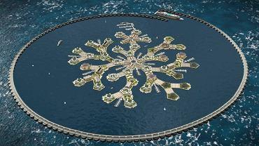 Na wodach Pacyfiku ma powstać miasto na wodzie.