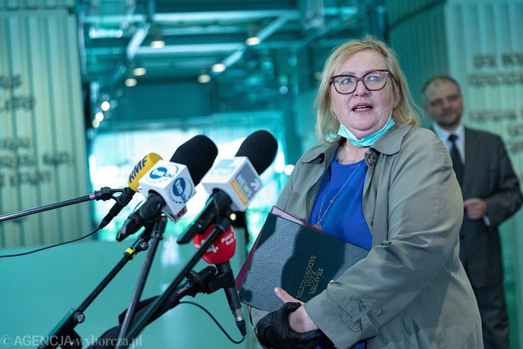 Pierwsza prezes Sądu Najwyższego Małgorzata Manowska