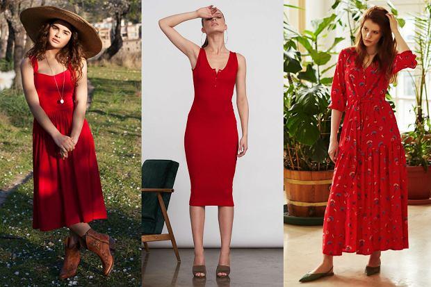Czerwone sukienki polskich marek