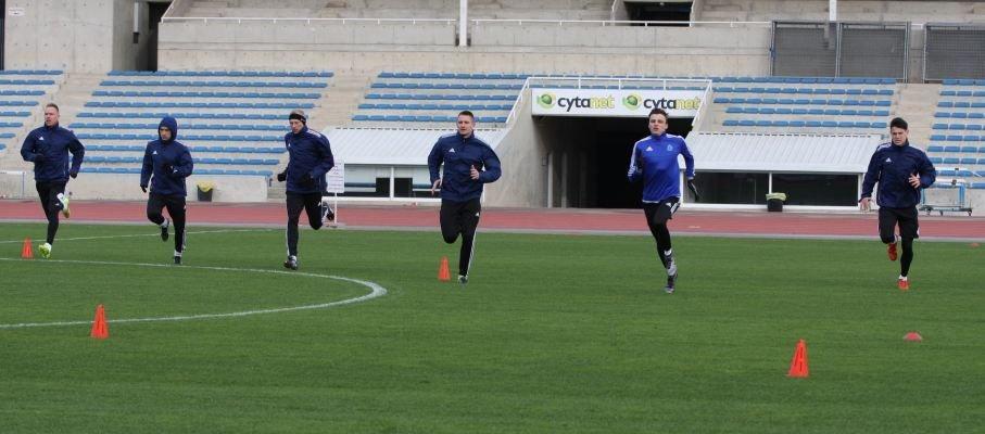 Trening Ruchu Chorzów na Cyprze