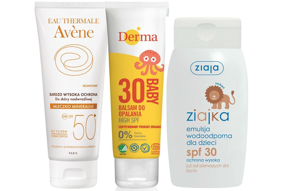 Kosmetyki przeciwsłoneczne dla dzieci