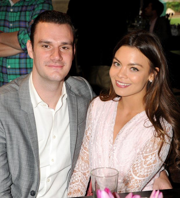 Pictured: Cooper Hefner and Scarlett Byrne<br> Mandatory Credit   Gilbert Flores/Broadimage<br> 2015 Playmate of the Year Announcement<br> <P> 5/14/15, Holmby Hills, CA, United States of America<br> <P> <B>Broadimage Newswire</B><br> Los Angeles 1+  (310) 301-1027<br> New York      1+  (646) 827-9134<br> sales@broadimage.com<br> http://www.broadimage.com<br>