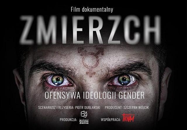 Plakat filmu 'Zmierzch...'