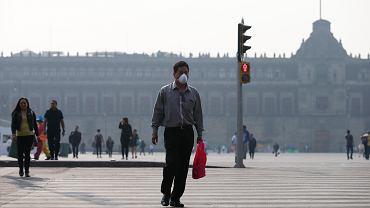 Miasto Meksyk dusi smog, 16 maja 2019 r.
