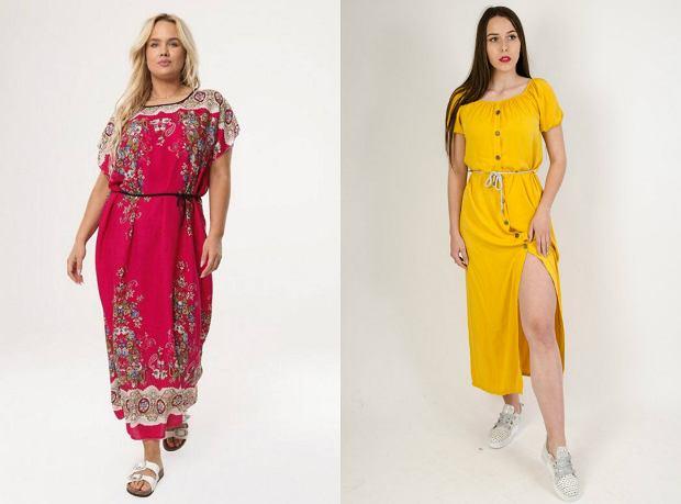 Letnie sukienki dla kobiet plus size