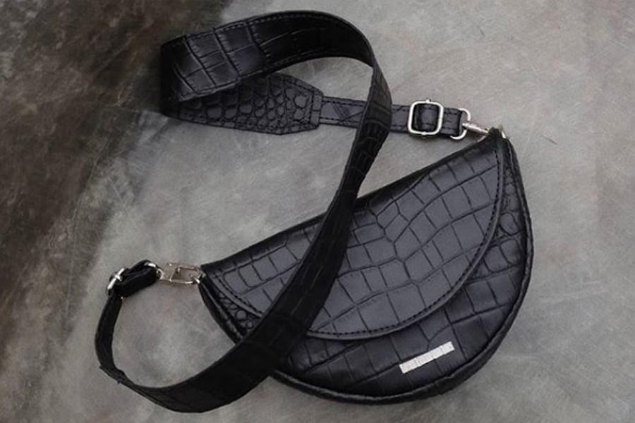 Czarna torebka Fabiola