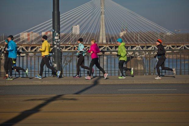 orlen warsaw marathon, maraton, trening biegacza