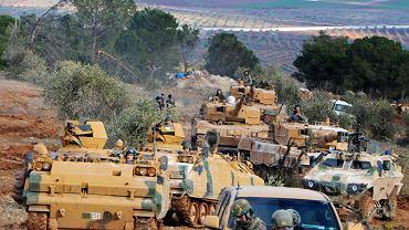 Wojna w Syrii. Protureckie milicje w rejonie Afrin
