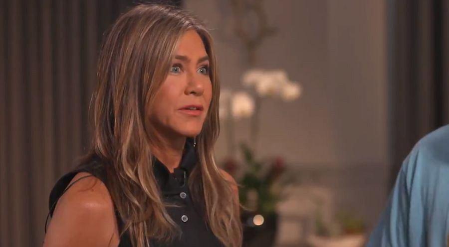 Jennifer Aniston udziela wywiadu NBC