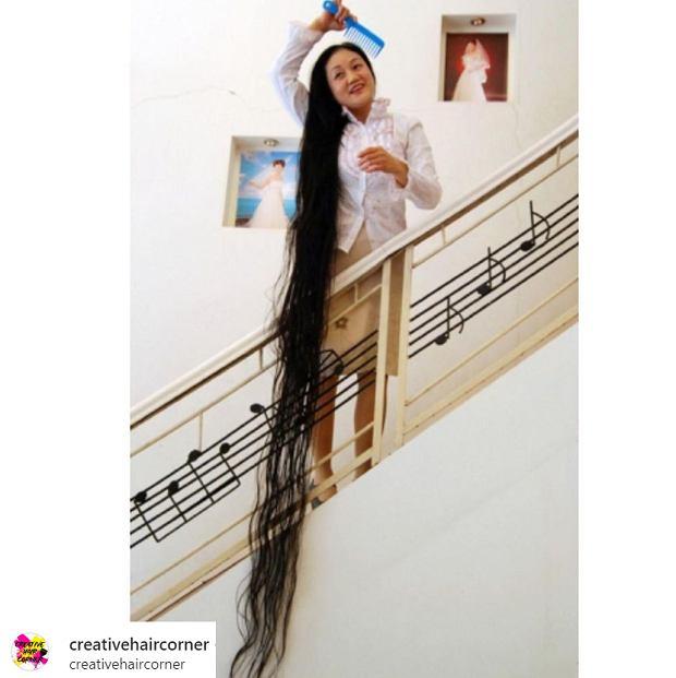 Najdłuższe włosy świata - kto jest ich posiadaczką?