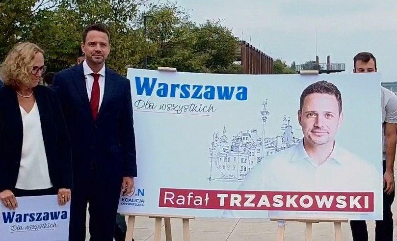 Rafał Trzaskowski przedstawił swoje hasło wyborcze