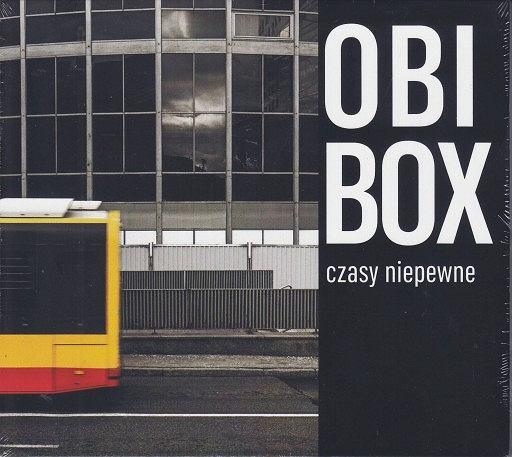 Okładka płyty 'Czasy niepewne' zespołu Obibox  / Materiały prasowe