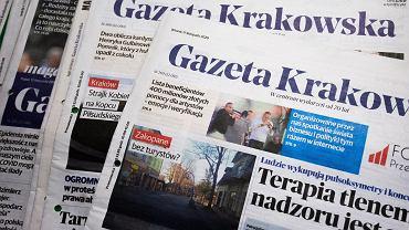 Gazeta Krakowska, lokalny dziennik wydawany przez Polskę Press