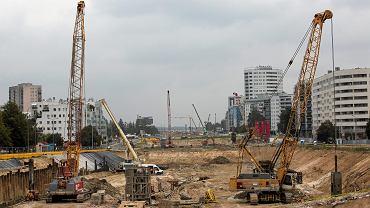 Budowia tunelu południowej obwodnicy Warszawy przez Ursynów, 31 sierpnia 2018