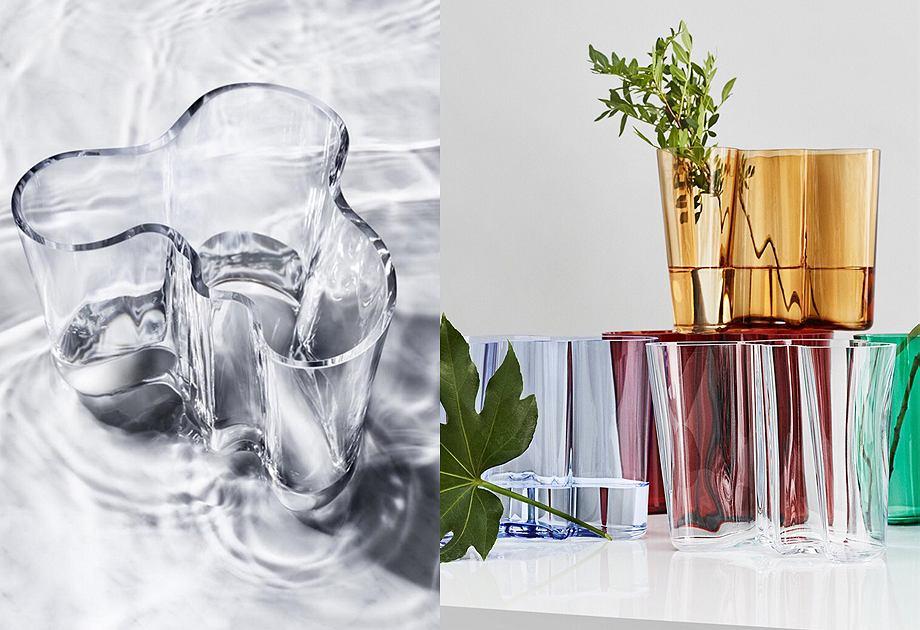 Wazon Aalto z kolekcji Iittala