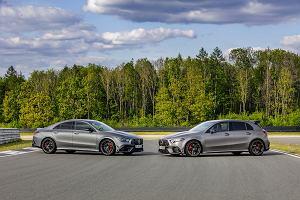Mercedes-AMG A45 i A45S - 3,9 sekundy do setki w kompakcie