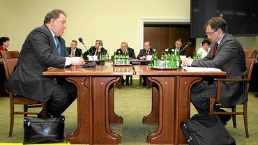 Konfrontacja Jaromira Netzla i Zbigniewa Ziobry przed Sejmową komisją śledczą