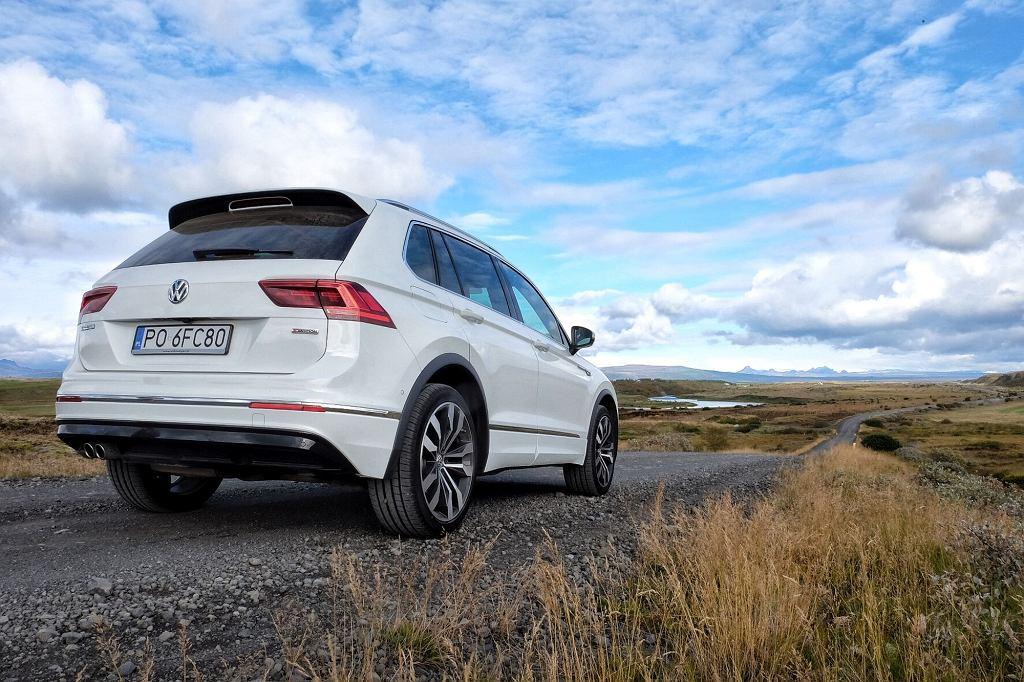 Volkswagen Tiguan na Islandii