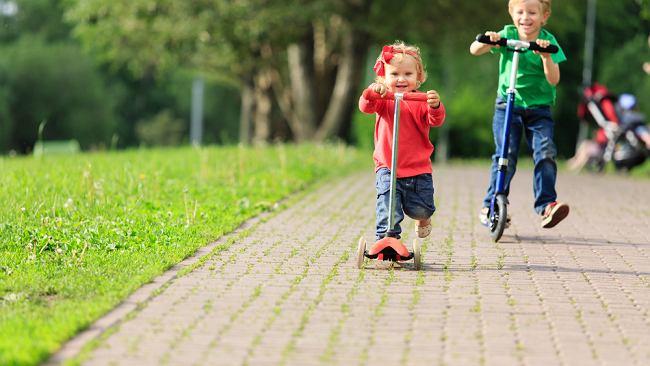 Hulajnoga dla dzieci to wsparcie rozwoju