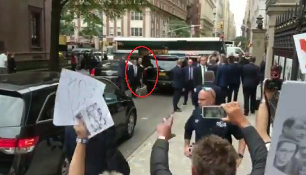 Agata Duda zakpiła z protestujących w USA