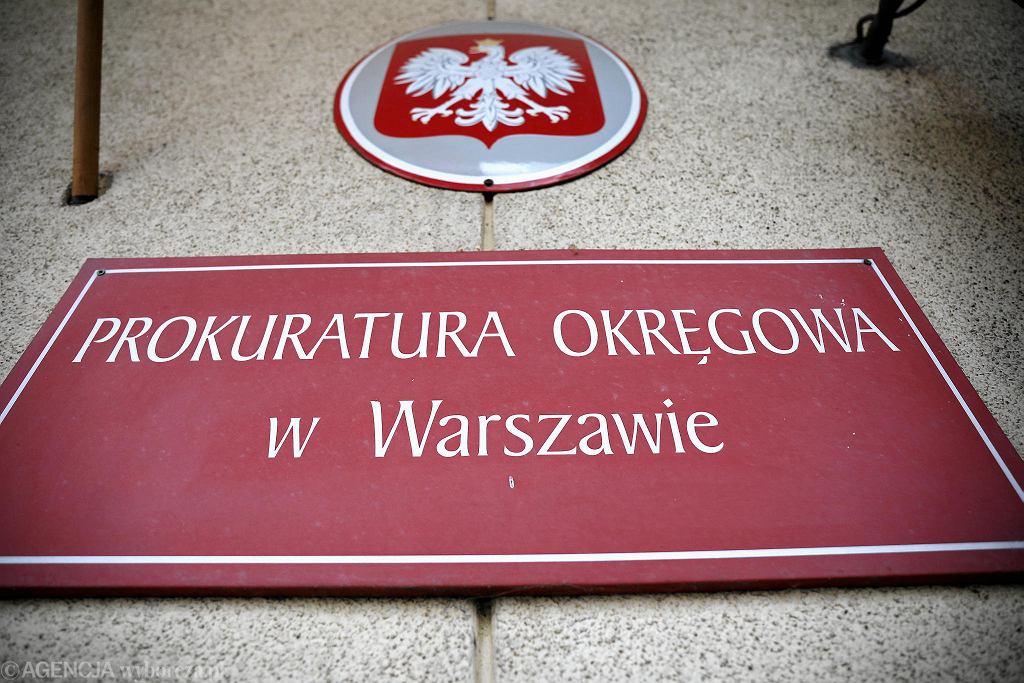 Konferencja prasowa rzecznika Prokuratury Okręgowej w Warszawie Łukasza Łapczyńskiego po sekcji zwłok 5-letniego Dawida