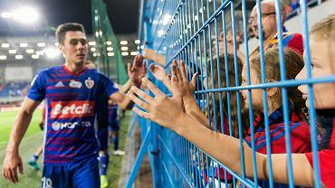 Piłkarze Piasta po pierwszym meczu z Rygą FC