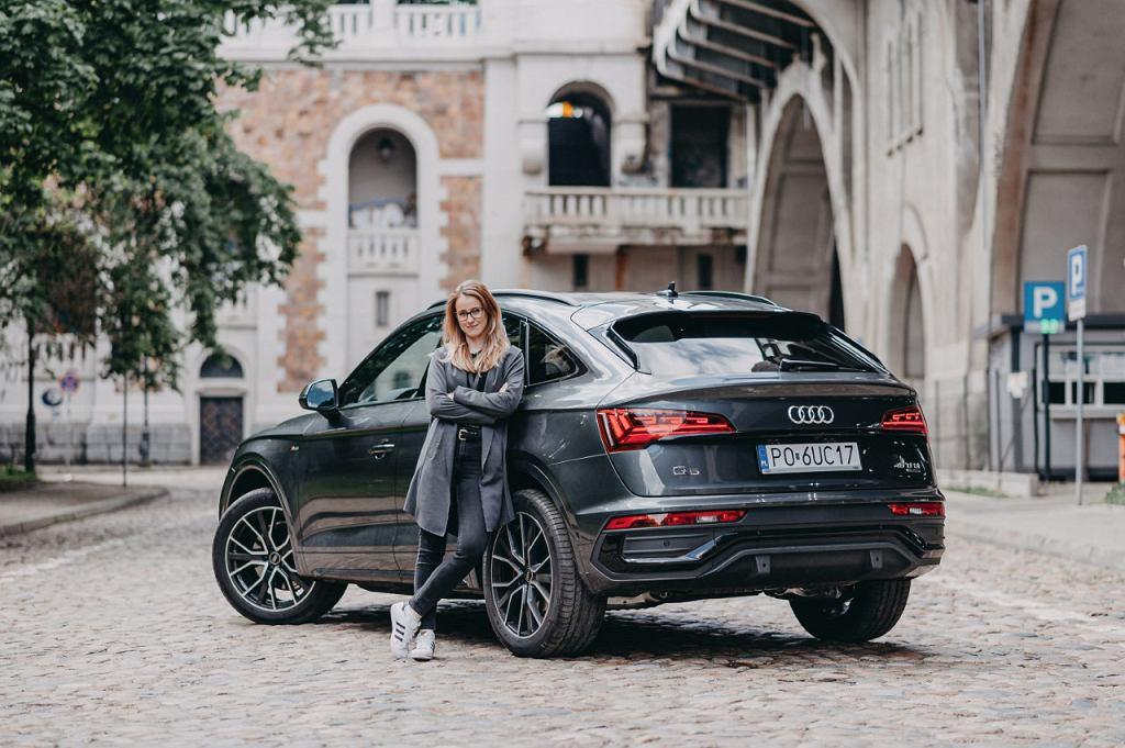 Audi Q5 Sportback 45 TFSI, red. Zuzanna Krzyczkowska