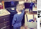 """""""Obowiązki domowe nie są tylko dla kobiet"""". Mama daje synowi życiową lekcję"""