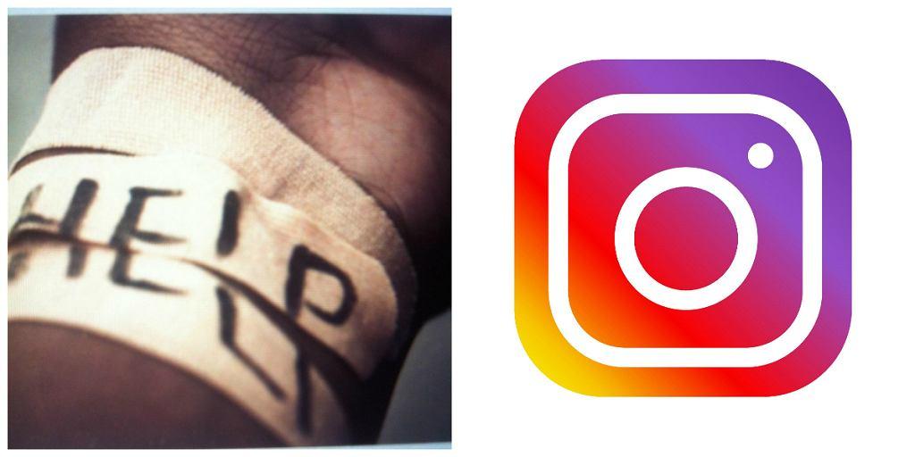 Pomocna dłoń Instagrama