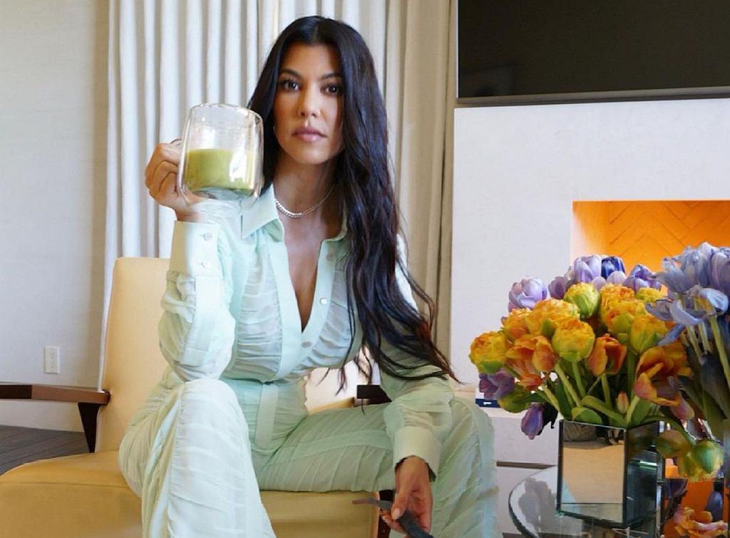 Kourtney Kardashian podaje sposoby na letni detoks