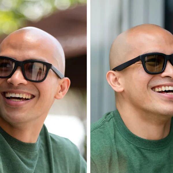 Okulary sterowane aplikacją na smartfona