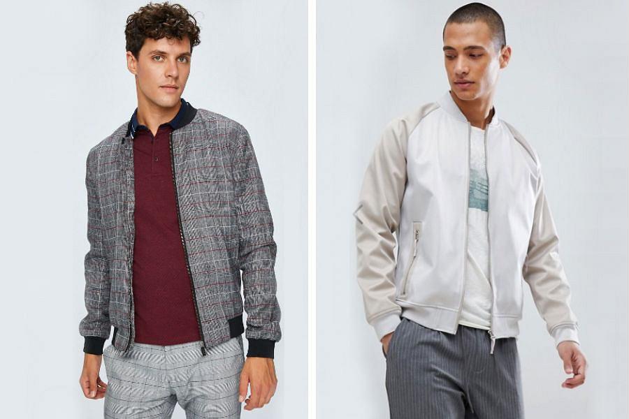 Kolaż / Bomber jacket / Materiały partnerów